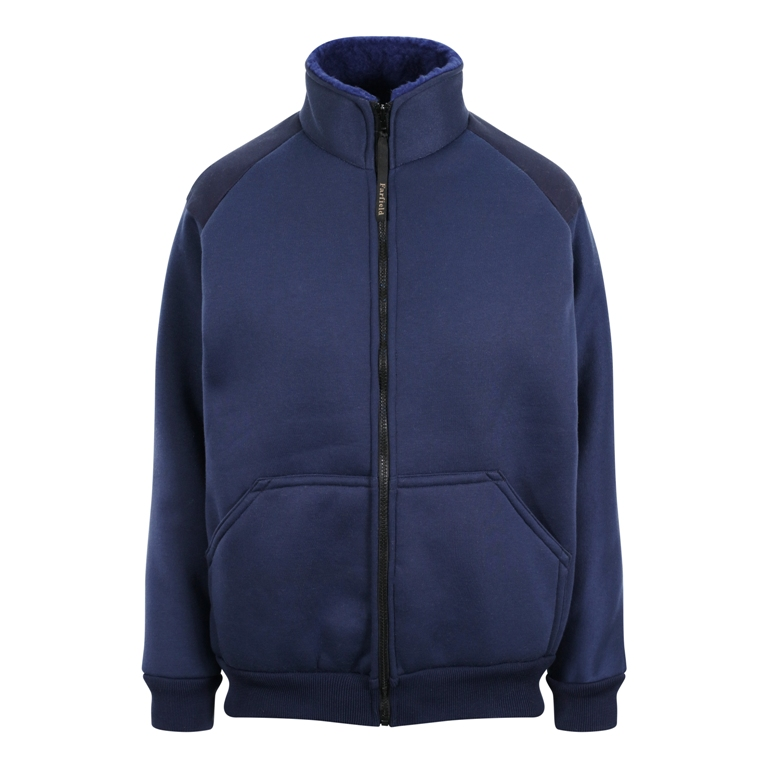 Fibrepile Fleece Jacket in Navy