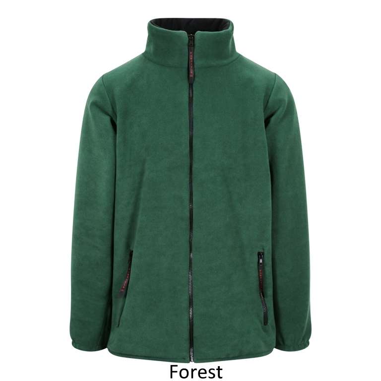 Fleece Jacket in Green