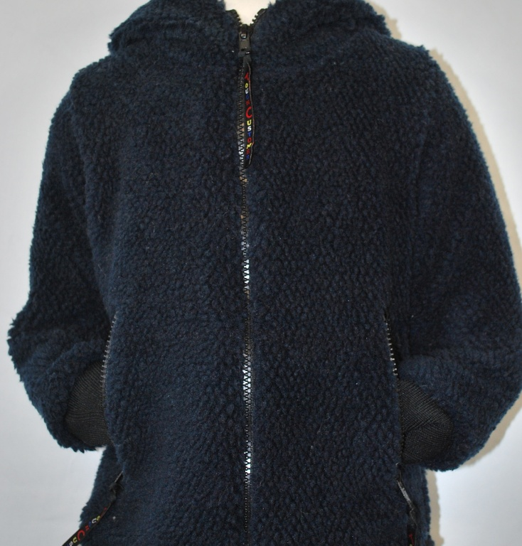 Child's Navy Fleece Jacket