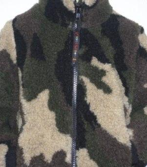 Childs Sherpa Fleece Jacket in Camo/DPM