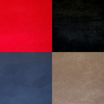 Plain Fleece Colourways Red Black Blue Light Brown